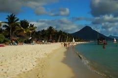 De kust van Mauritius royalty-vrije stock foto