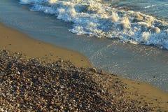 De kust van de Middellandse Zee Stock Afbeeldingen