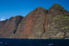 De Kust van Na Pali, Kauai, Hawaï Royalty-vrije Stock Fotografie