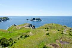 De kust van Newfoundland Stock Afbeelding