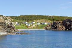 De kust van Newfoundland Stock Foto's