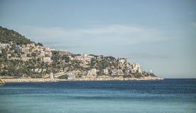 De kust van Nice Royalty-vrije Stock Afbeeldingen