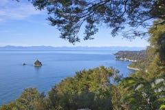 De kust van Nieuw Zeeland Royalty-vrije Stock Afbeelding