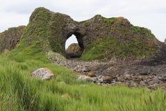 De kust van Noord-Ierland Stock Afbeelding