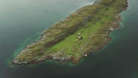 De kust van Noorwegen stock video