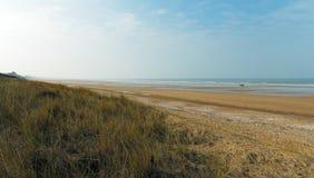 De kust van Normandië stock afbeeldingen