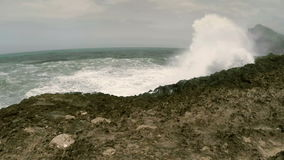 De kust van Oman stock videobeelden