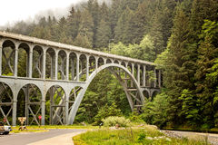 De kust van Oregon Stock Foto's