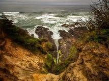 De kust van Oregon Stock Foto