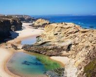 De kust van Portugal Stock Afbeelding
