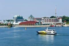 De kust van Singapore woon Stock Afbeeldingen