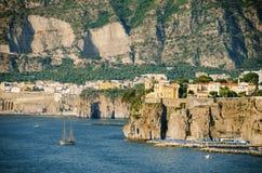 De kust van Sorrento Royalty-vrije Stock Foto