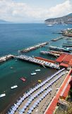 De Kust van Sorrento, Amalfi, Italië Royalty-vrije Stock Foto's