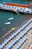 De Kust van Sorrento, Amalfi, Italië Stock Afbeelding