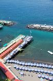 De Kust van Sorrento, Amalfi, Italië Royalty-vrije Stock Fotografie