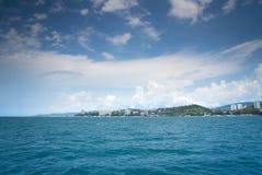 De kust van Sotchi Royalty-vrije Stock Foto