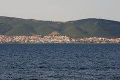 De kust van Svetivlas, Bulgarije stock afbeelding