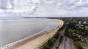 De kust van Swansea mompelt hoofd Royalty-vrije Stock Afbeeldingen