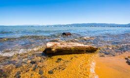 De Kust van Tahoe van het meer Royalty-vrije Stock Foto