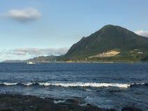 De kust van Taiwan Stock Afbeeldingen