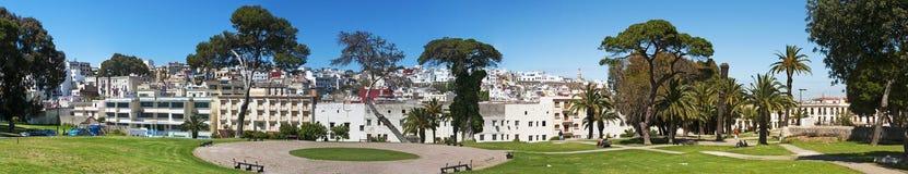 De kust van Tanger, Tanger, Tanger, Marokko, Afrika, Noord-Afrika, Magreb, Straat van Gibraltar, Middellandse Zee, de Atlantische Stock Fotografie