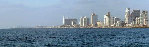 De kust van Tel Aviv Royalty-vrije Stock Afbeeldingen