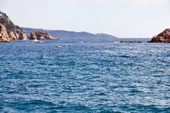 De kust van Tossa de Mar Stock Foto