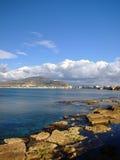 De kust van Trapan Stock Afbeeldingen