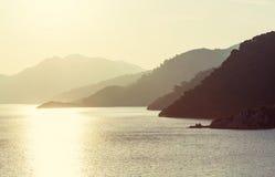 De kust van Turkije Stock Fotografie