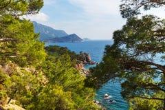 De kust van Turkije Royalty-vrije Stock Foto's