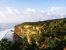 De kust van Uluwatu Royalty-vrije Stock Foto