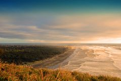 De kust van Washington Stock Foto's