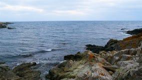 De kust van de Zwarte Zee stock videobeelden