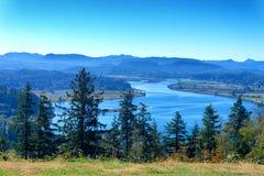 De Kustlandschap van Oregon stock afbeelding