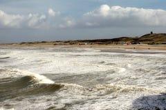 De kustlijn Stock Afbeeldingen