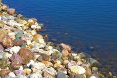 De kustlijn Stock Foto