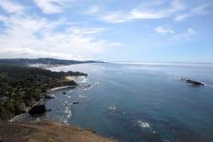 De Kustlijn en de Oceaan van Oregon Royalty-vrije Stock Foto
