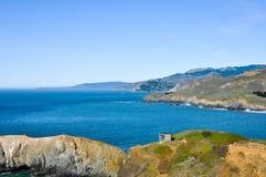 De Kustlijn van Californië Royalty-vrije Stock Foto's