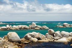 De kustlijn van Cape Town Stock Foto