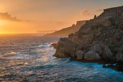De kustlijn van Cape Town stock fotografie
