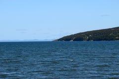 De kustlijn van de conceptiebaai, Avalon Peninsula; NL Canada royalty-vrije stock fotografie