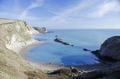 De Kustlijn van Dorset stock foto's