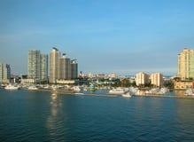 De kustlijn van Florida Stock Foto