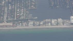 De kustlijn van Florida stock videobeelden