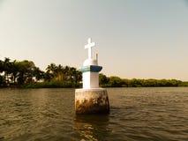 De kustlijn van Goaindia stock fotografie