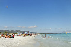 De kustlijn van Golfoaranci. Stock Fotografie