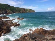 De kustlijn van Jersey Royalty-vrije Stock Fotografie