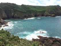 De kustlijn van Jersey Royalty-vrije Stock Afbeelding
