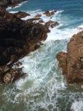 De kustlijn van Jersey Stock Fotografie