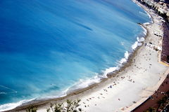 De kustlijn van L'azure Stock Foto's